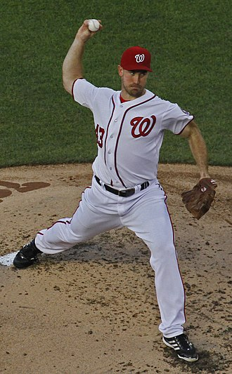 Ross Ohlendorf - Ohlendorf with the Nationals