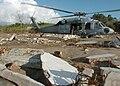 MH-60S Knighthawk unloading rice on Sumatran coast 1-16-05 050116-N-8629M-387.jpg