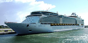 MS Freedom of the Seas - Image: MS Freedom of the Seas, Port Canaveral, Florida