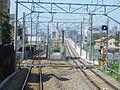 MT-Aoyama Station-Newline switch construction.JPG