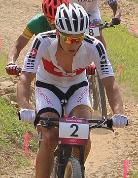 MTB cycling 2012 Olympics M cross-country SUI Nino Schurter 01.jpg