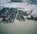 Maastricht, overstroming Maas bij Borgharen, 1993 (2).jpg