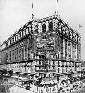 Macy's - Macy's in Herald Square in 1907.