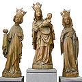 Madonna St Oswald St Catharine 15th century.jpg