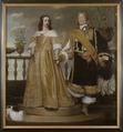 Magnus Gabriel De la Gardie, 1622-1686, Maria Eufrosyne av Pfalz-Zweibrücken, 1625-1687 - Nationalmuseum - 35604.tif