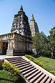 Mahabodhi Temple Spires (8569625237).jpg