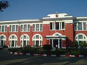 Main building of the University of Medicine 1, Yangon, 2009
