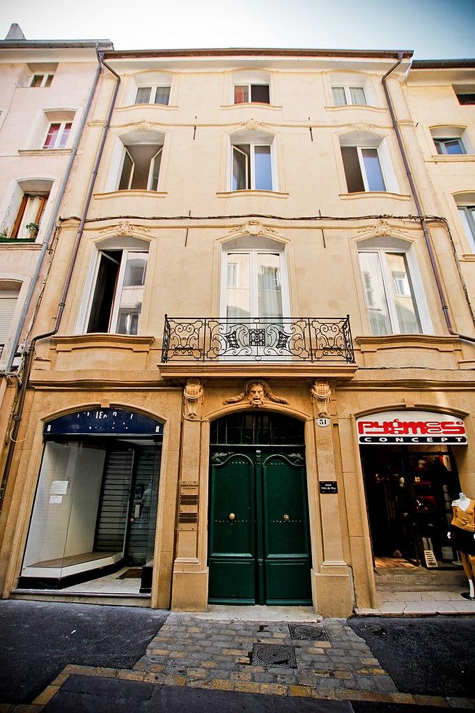 File maison 31 rue des cordeliers aix en provence for Maison des agriculteurs aix en provence