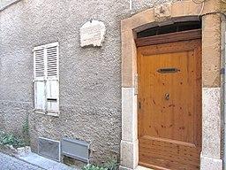 Maison naissance audiberti Antibes