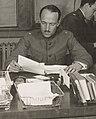 Major Dana H. Crissy detail on December 20, 1917, 111-SC-1441 - School of Military Aeronautics, Princeton University - Major Dana H. Crissy, Commanding Officer, his adjunct, and clerks - NARA - 55164221 (cropped).jpg