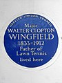 Major WALTER CLOPTON WINGFIELD 1833-1912 Father of Lawn Tennis lived here.jpg