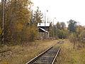 Malá Morávka, nádraží, pohled k pile.jpg