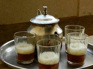 Malian cuisine - Image: Malian Tea 2