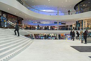 Mall of Scandinavia - Interior of the mall