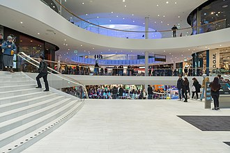 Mall of Scandinavia - Interior of the mall