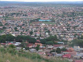 View of Mamelodi