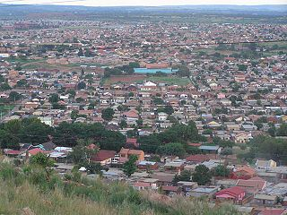 Mamelodi Place in Gauteng, South Africa