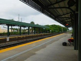 Mangonia Park station - Mangonia Park station in June 2018