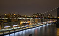 Manhattan Bridge East River night skyline.jpg