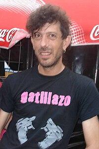 Manolo Kabezabolo en el festival Derrame Rock 12, celebrado en la ...