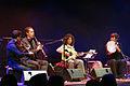 """Manos Achalinotopoulos et son ensemble dans le café oriental de Saint-Florent-le-Vieil, Concert """"Clarinette tsigane des Balkans"""", Festival Les Orientales (Saint-Florent-Le-Vieil).jpg"""