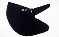 Mantel av blå sammet till strumpebandsordensdräkt - Livrustkammaren - 93670.tif