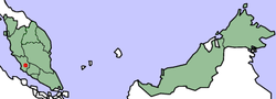 Lokasi dalam Malaysia