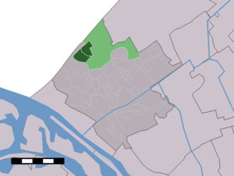 Monster, South Holland - Image: Map NL Westland Monster