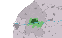 Location in the municipality of Franekeradeel