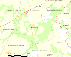 Map commune FR insee code 37009.png