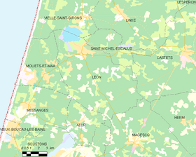 Map commune FR insee code 40150.png