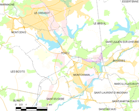 Map commune FR insee code 71540.png