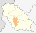Map of Kovachevtsi municipality (Pernik Province).png