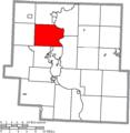Map of Muskingum County Ohio Highlighting Muskingum Township.png
