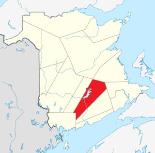 Queens County, New Brunswick County in New Brunswick, Canada