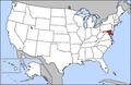 Map of USA highlighting Maryland.png
