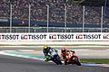 Marc Márquez and Valentino Rossi 2015 Assen 3.jpeg