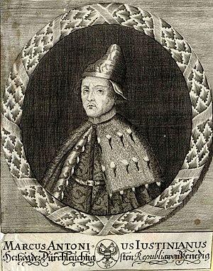 Marcantonio Giustinian - Marcantonio Giustinian