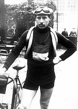 Marcel Buysse - Buysse at the 1913 Tour de France