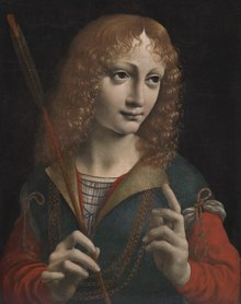 Marco d'Oggiono - Portrait of a Youth as Saint Sebastian - 1986.9 - Cleveland Museum of Art.tiff