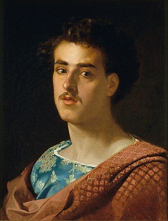 Marià Fortuny - Self portrait by Marià Fortuny (1863–73)