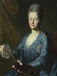 Maria Antonia di Sassonia - Self-portrait in Uffizi Gallery.jpg