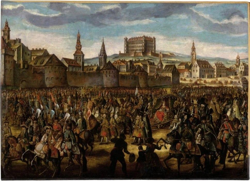 Maria Theresa-coronation-1741-Pressburg-Hertz