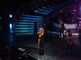 The Adventures of Mimi - Mariah Carey performing with the first costume.