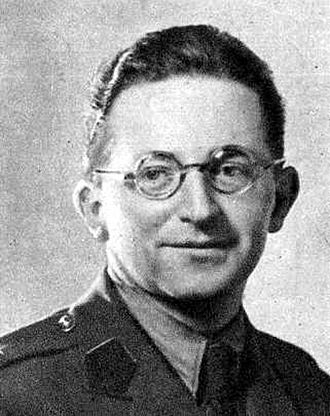 Marian Rejewski - Marian Rejewski, second lieutenant (signals), Polish Army in Britain, in late 1943 or in 1944, 11 or 12 years after he first broke Enigma
