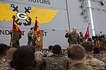 Marines receive a ship safety brief 150312-M-CX588-015.jpg