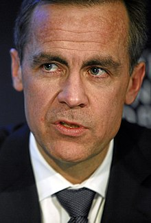 Mark Carney à la City en janvier 2011