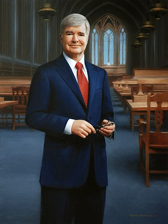 Mark Emmert - Mark Emmert portrait painting by Michele Rushworth