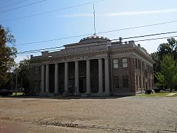 Quitman County Courthouse i Marks.