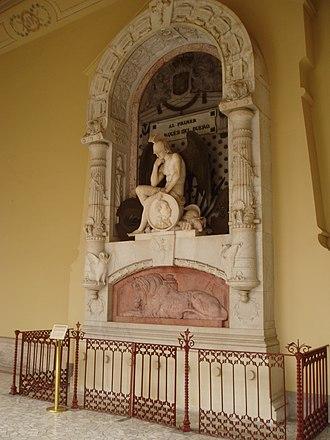 Pantheon of Illustrious Men - Image: Marqués del Duero